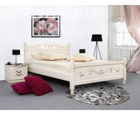 Lyudmila Bed No. 17 1600 (pearls) with orthopedic base MGrad