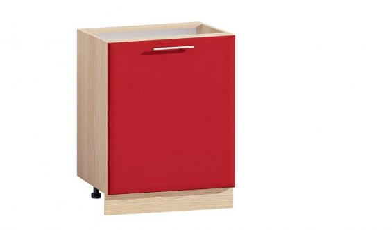 2877-T oak milky/red lacquer